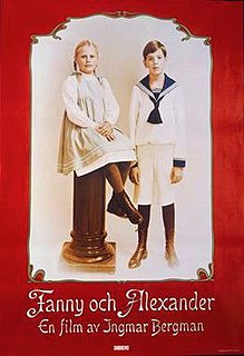 <i>Fanny and Alexander</i> 1982 Swedish film directed by Ingmar Bergman