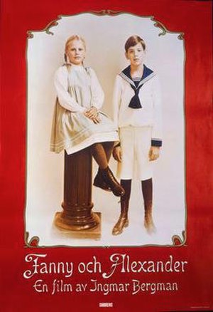 Fanny and Alexander - Original Swedish release poster