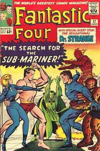 Chic Stone - Image: Fantastic Four 27