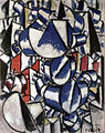 Fernand Léger, 1913, Contrast of Forms (Contraste de formes), published in Der Sturm, 5 September 1920.jpg