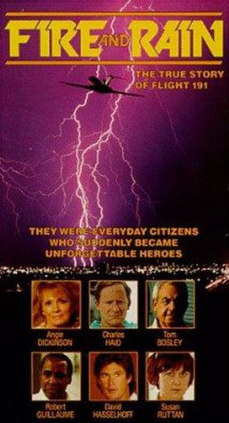 Fire and Rain (film) - Theatrical poster