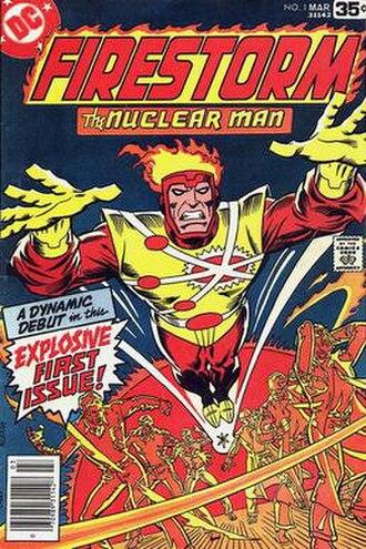 Firestorm (comics) - Image: Firestorm v 1, 01