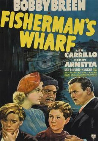 Fisherman's Wharf (film) - Theatrical poster for the film