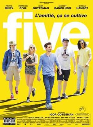 Five (2016 film) - Theatrical release poster