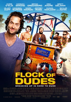 Flock of Dudes - Promotional release poster