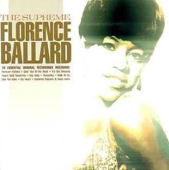 """The Supreme Florence """"Flo"""" Ballard - Image: Florence Ballard The Supreme"""