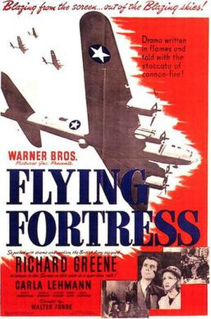 Flying Fortress (film) - Theatrical release poster