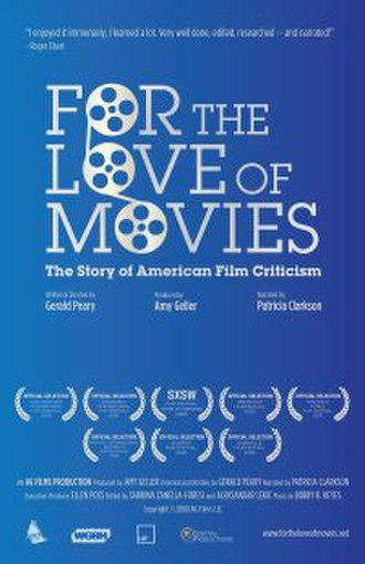 For the Love of Movies: The Story of American Film Criticism - Theatrical release poster