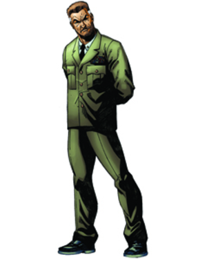 General Joseph Colton - General Colton from G.I. Joe: America's Elite