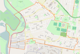 Georges Hall suburb boundary.png