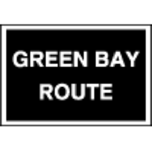 Green Bay and Western Railroad - Image: Green bay route logo