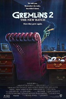 <i>Gremlins 2: The New Batch</i> 1990 horror comedy film directed by Joe Dante