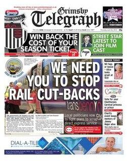 <i>Grimsby Telegraph</i> Daily British regional newspaper