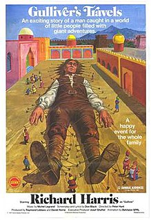 <i>Gullivers Travels</i> (1977 film) 1977 film by Peter R. Hunt