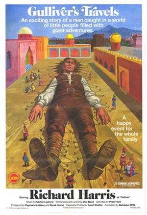 Gulliver's Travels (1977 film) - Film poster