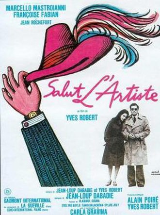 Hail the Artist - French poster