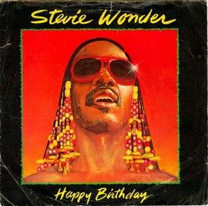 """Happy Birthday (Stevie Wonder song) - Image: Happy Birthday Single 7"""""""