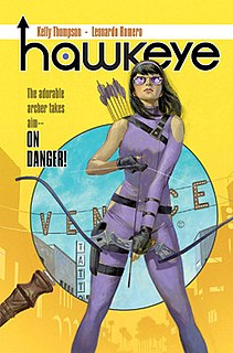 Hawkeye (Kate Bishop) Fictional Marvel Comics Superhero
