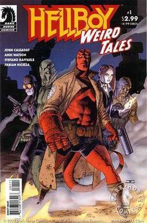 Hellboy: Weird Tales - Image: Hellboy Weird Tales 1