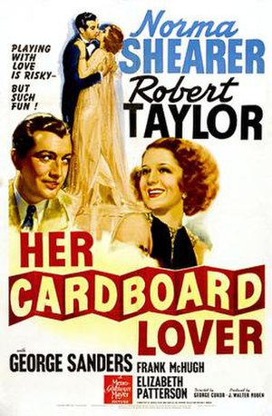 Her Cardboard Lover - Movie poster