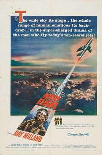 High Flight (film) - Image: High flight movie poster 1957