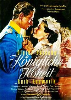 <i>Königliche Hoheit</i> (film) 1953 film
