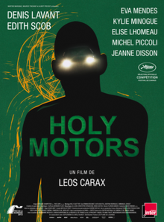 Holy Motors - Theatrical release poster