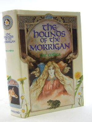 The Hounds of the Morrigan - Cover of the original 1985 edition, as well as the 1999 reprint by HarperTrophy