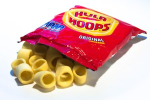 Hula Hoops - A packet of Hula Hoops (original flavour)