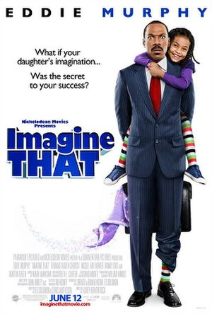 Imagine That (film) - Theatrical release poster