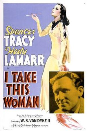 I Take This Woman (1940 film) - Image: Itakethiswomanposter