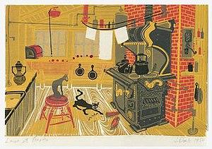 "Janet Doub Erickson - Image: Janet Doub Erickson Print of ""Lares & Penates"""