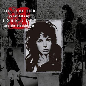 Fit to Be Tied (album) - Image: Joan Jett and the Blackhearts Fit To Be Tied Coverart