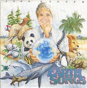 Earth Songs - Image: John Denver Earth Songs album cover