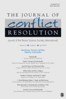 <i>Journal of Conflict Resolution</i> Academic journal