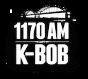 KBOB (AM) - Image: KBOB 1170AMK BOB logo