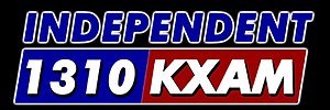 KIHP (AM) - The station's last logo as KXAM.
