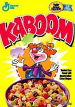 Kaboom (breakfast cereal) - A box of Kaboom breakfast cereal.