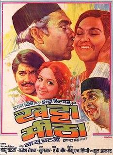 <i>Khatta Meetha</i> (1978 film) 1978 film directed by Basu Chatterjee