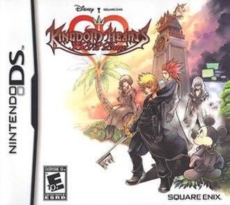 Kingdom Hearts 358/2 Days - North American box art