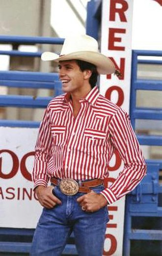 Lane Frost - Lane Frost at a rodeo event