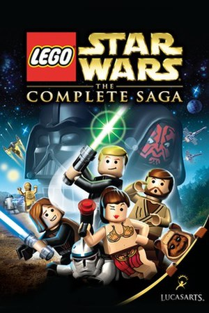 Lego Star Wars: The Complete Saga - Cover art for Lego Star Wars: The Complete Saga