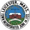 Official seal of Leicester, Massachusetts