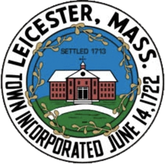 Leicester, Massachusetts - Image: Leicester MA seal