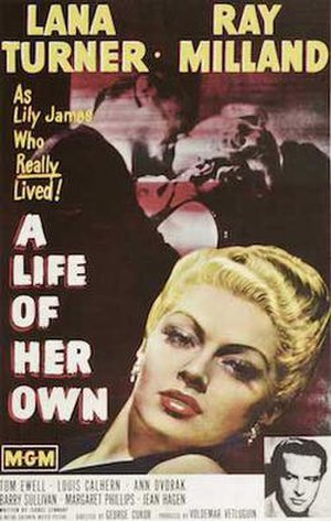 A Life of Her Own - Videotape cover
