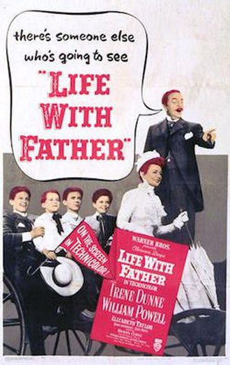 Life with Father (film) - Theatrical Film Poster