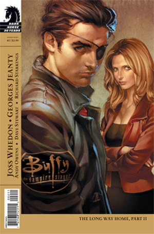 Xander Harris - Xander along with Buffy in the comic book continuation Buffy the Vampire Slayer Season Eight.
