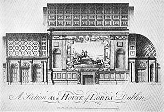 Irish House of Lords - Image: Lords Chamber 2