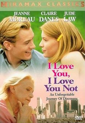 I Love You, I Love You Not - Theatrical release poster
