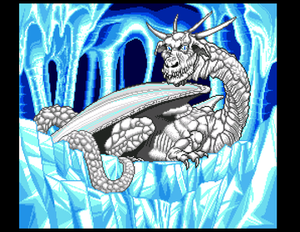 Lunar: The Silver Star - An animated cutscene with Quark the White Dragon
